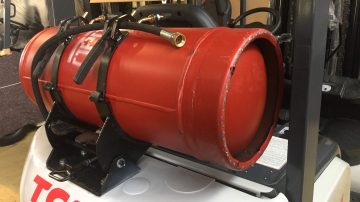 Ремонт газового оборудования погрузчика